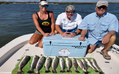 Tampa Bay Trout Fishing Charter in West Florida