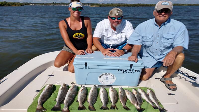 Tampa Bay Trout Fishing
