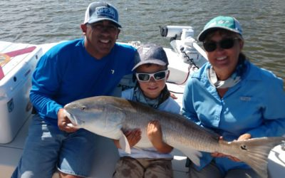 Family Redfish Fishing Charter in Tampa, FL